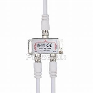 Kabel Tv Verteiler : 2 fach tv verteiler antennenverteiler tv bk sat splitter f stecker adapter kabel ebay ~ Orissabook.com Haus und Dekorationen