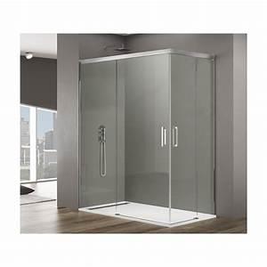 paroi de douche d angle parois de douche d 39 angle en With porte d entrée alu avec pompe de relevage salle de bain sous sol