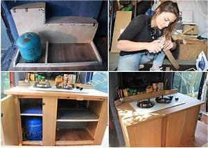 Küchenblock Selber Bauen : so hat marina ihren hochdachkombi zum minicamper selbst ~ Lizthompson.info Haus und Dekorationen