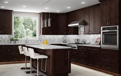 tiling in kitchen 10x10 kitchen cabinets 1000 shaker espresso cabinets to 2818