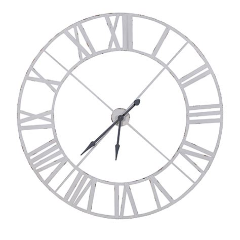 amazon artificial trees uk industrial white metal wall clock