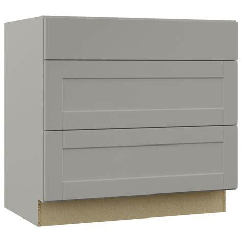 hton bay shaker base cabinet grey kitchen base cabinets 28 images kitchens gray