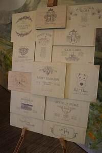 Wine Themed Table Plan From A Recent Wedding