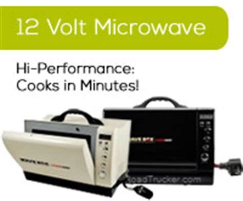 Hi Perform Appliance, 12v Fridge Freezer, Microwave
