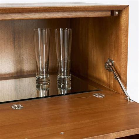 mid century bar cabinet large mid century bar cabinet large west elm
