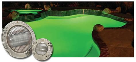 how to change a pool light intellibrite color changing led in ground swimming pool light
