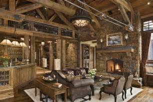 rustic home interior rustic house design in western style ontario residence digsdigs
