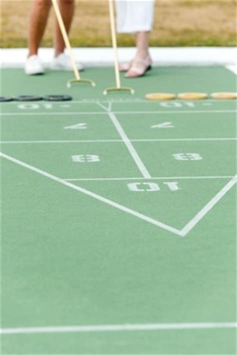 shuffleboard backyard games landscaping network