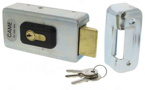 serrure 233 lectrique came lock82 avec cylindre 157 25