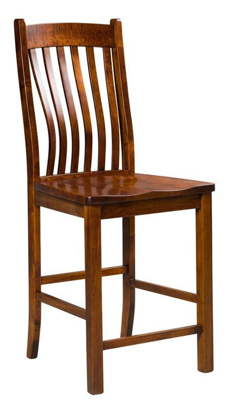 Delilah Stationary Bar Stool from DutchCrafters Amish