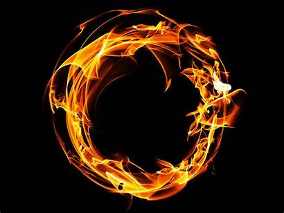 Smoke Fire Texture Overlay Ring Background Photoshop