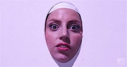 Gaga Lady Stare Gifs Reaction