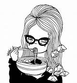 Coloring Pages Valfre Ramen sketch template