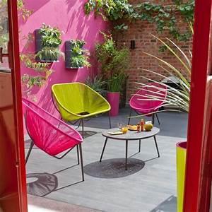 Salon De Jardin Acapulco : banc moretta cordes vertes castorama in the garden pinterest jardins mobilier jardin ~ Teatrodelosmanantiales.com Idées de Décoration