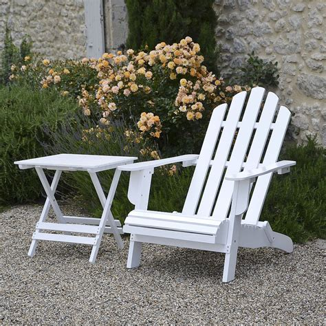adirondack folding chair painted white by plant theatre