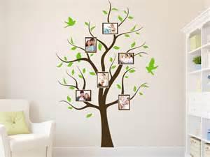 wand gestalten mit fotos wandtattoo fotobaum bei homesticker de