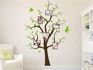 Baum An Wand Malen : wandtattoo baum mit bilderrahmen wandtattoo de ~ Frokenaadalensverden.com Haus und Dekorationen