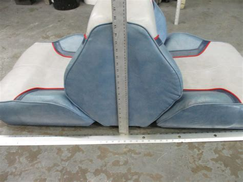 Bayliner Back To Back Boat Seats For Sale by Bayliner Capri Boat Seat Back To Back Folding Blue Grey