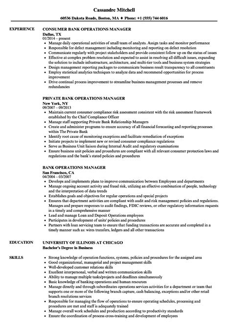 Bank Manager Resume by 10 Sle Resume For Banking Payment Format