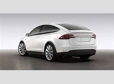 Tesla Model X revealed via online configurator photos