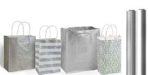 silver gift bags gift wrap party city