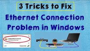 SOLVED Fix Ethernet Internet Connection Problem in Windows ...