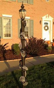 Halloween, Garland, For, The, Lamp, Post, That, Matches, My, Halloween, Wreath, Deco, Mesh, And, Ribbon