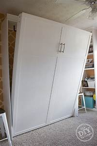 Diy Murphy Bed  Making Room For Guests