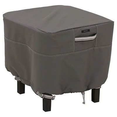 small side table target ravenna small square patio ottoman side table cover dark