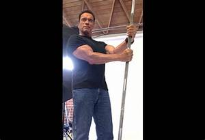 He's back: Arnold Schwarzenegger campaigns for fitness ...