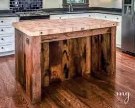 butcher block kitchen islands furniture made using wooden pallets pallet idea
