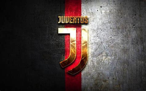 Scarica sfondi Juventus FC, logo dorato, Juve, nero e ...