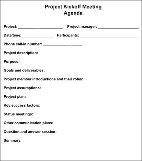 follow  steps  conduct  effective project kickoff