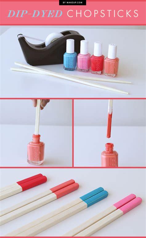 creative nail polish crafts