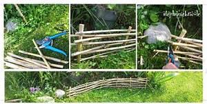 Objet Bambou Faire Soi Meme : faire soi m me un potager en carr s des all es en bois et des bordures de jardin en bambou meme ~ Melissatoandfro.com Idées de Décoration