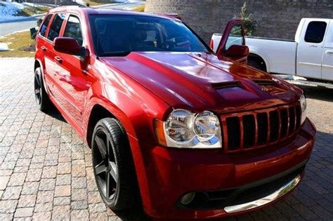 srt8 jeep modified purchase used 2006 jeep grand cherokee srt8 procharger