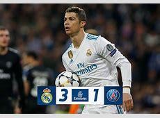 Real Madrid vence 31 al PSG y el Liverpool derrota al