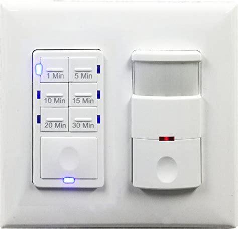 topgreener bathroom fan timer switch  light sensor