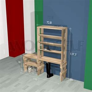 Shoe rack - Woodself - Free plans for woodworking