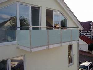 Balkongelander glas aluminium balkon gelander vsg glas ebay for Katzennetz balkon mit chateau la garde