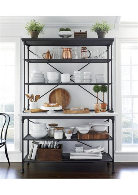 Crate & Barrel French Kitchen Bakers Rack With Hutch. Victorian Sofas. Modern Industrial Coffee Table. Pergola Lights. Quartz Vs Granite Countertops. Master Bedrooms. Tulip Table. Black Garage Doors. Dining Room Centerpiece Ideas