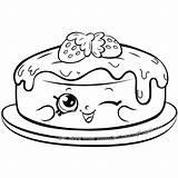 Pancake Coloring Shopkins Pages Season Cake Sheets Shopkin Colouring Fran Pancakes Printable Happy Cartoon Characters Colour Rare Scribblefun Birthday Teacup sketch template