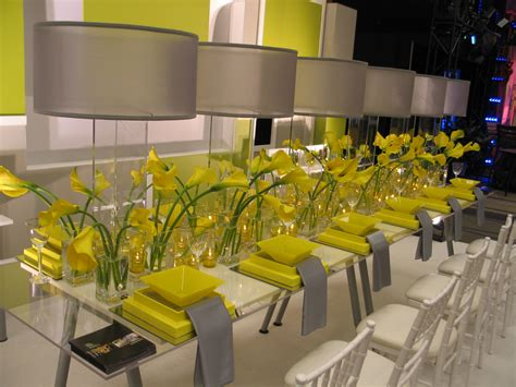 decoration de mariage jaune mariageoriginal