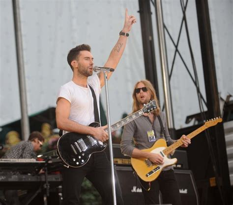 Adam Levine And James Valentine Photos Photos  Maroon 5