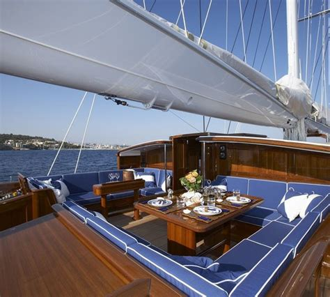 Meteor Sailing Yacht Interior