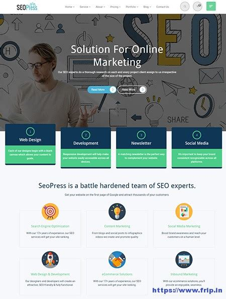 digital marketing websites 30 best seo website templates for seo companies agency