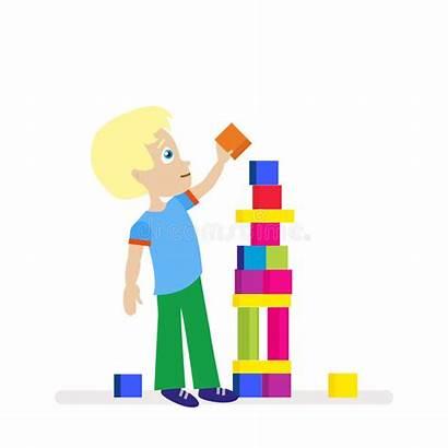 Cubes Torre Enfant Building Grande Jeux Cubi