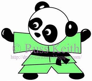 How To Draw Cartoons: How to Draw a Panda Bear
