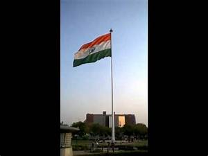 Largest Indian flag at Connaught Place, Delhi - YouTube