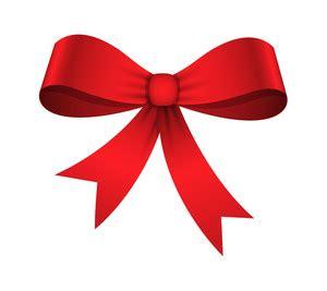 present  gold ribbon bow vector royalty  stock